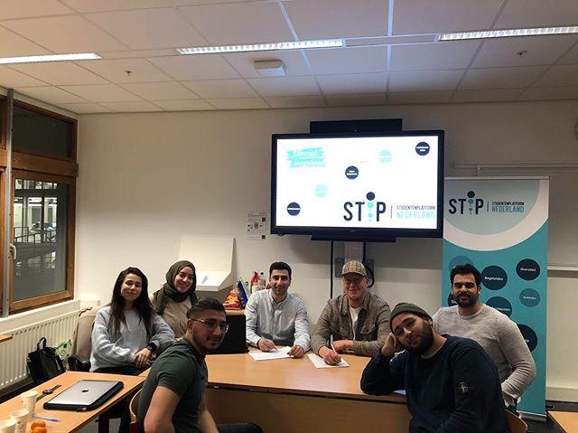 Samenwerking met Stip Studentenplatform